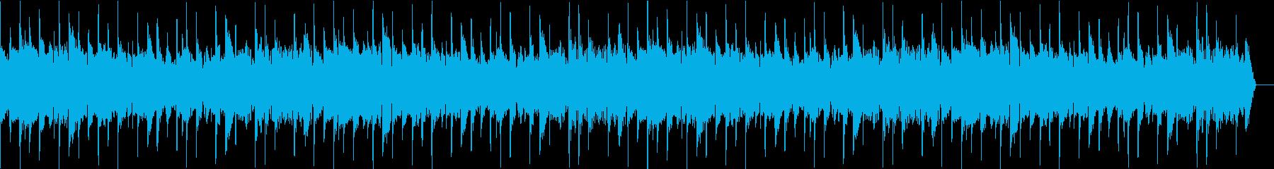 感動の回想シーンを演出するエレキギターの再生済みの波形