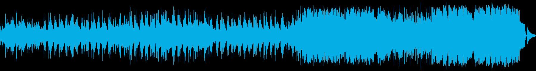 ゆったりとしたメロディアスなピアノワルツの再生済みの波形