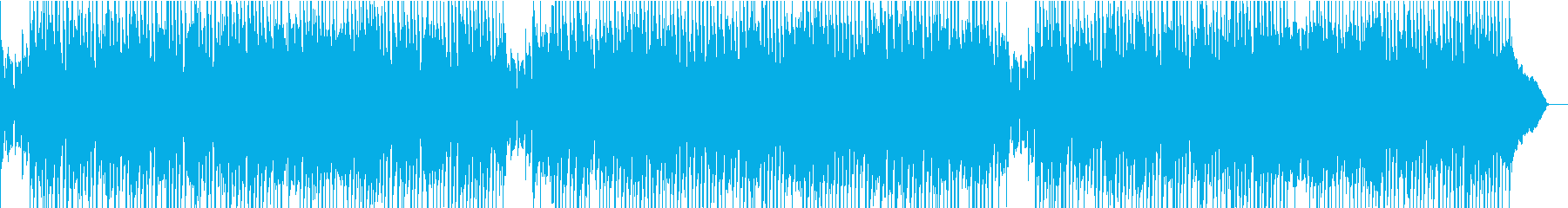 ロカビリー+カントリー!生演奏ギターの再生済みの波形