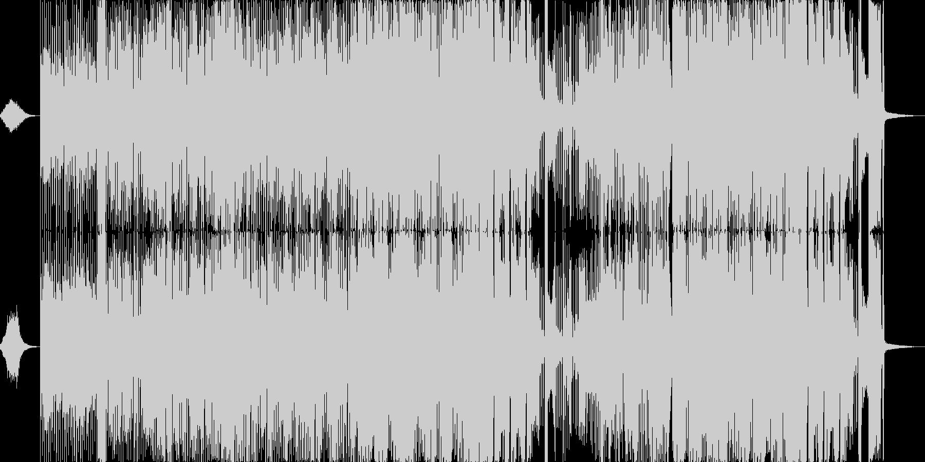 家。 80音。ヴィンテージの音。ア...の未再生の波形