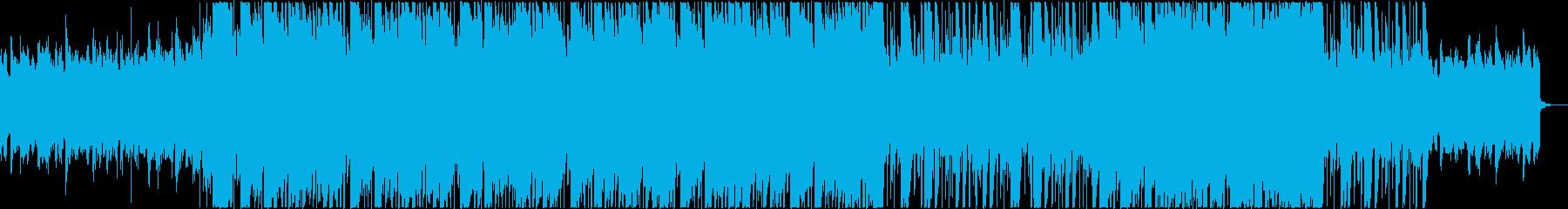 映像に合うクールでお洒落なR&Bの再生済みの波形