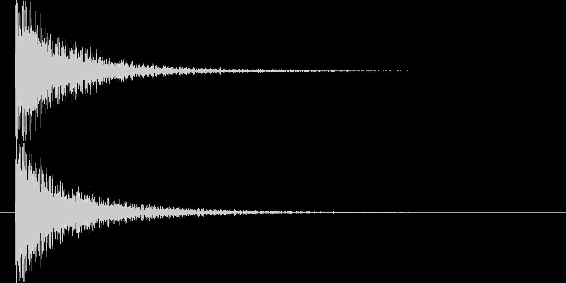 映画告知音146 ドーンの未再生の波形