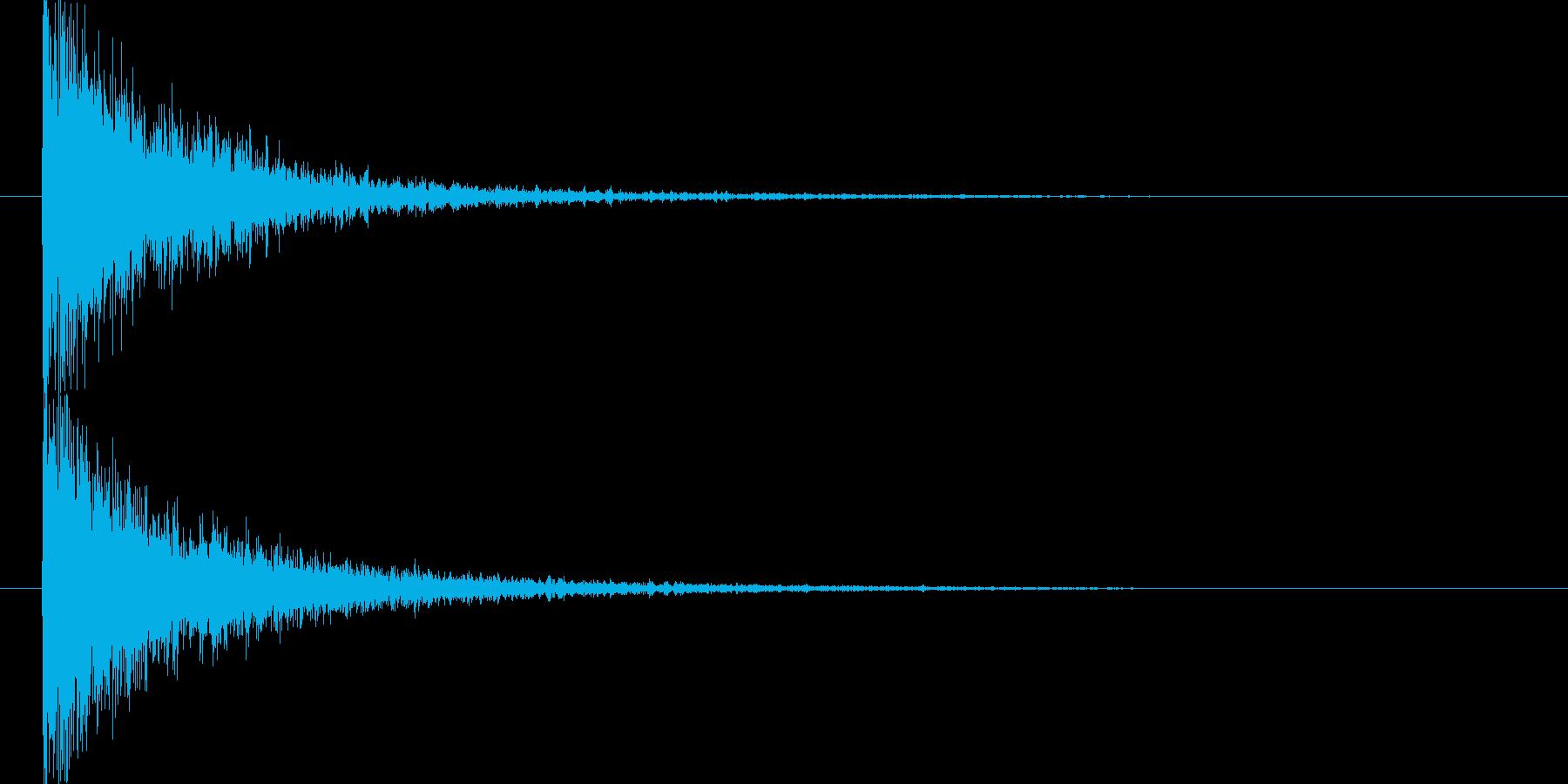 映画告知音146 ドーンの再生済みの波形