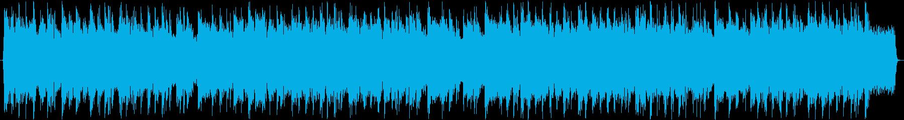 疾走感あふれるヘビーメタルの再生済みの波形