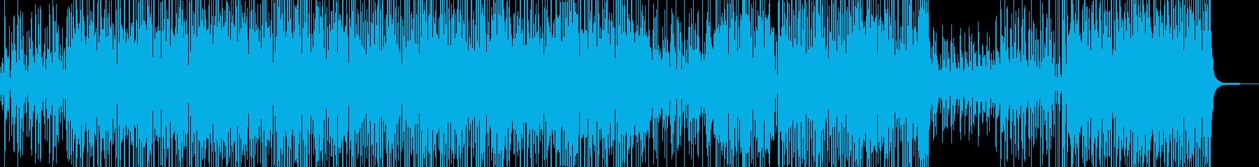 ポップなイベントが始まるようなBGMの再生済みの波形