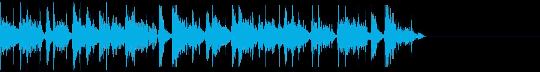 ボサノヴァなジングルの再生済みの波形