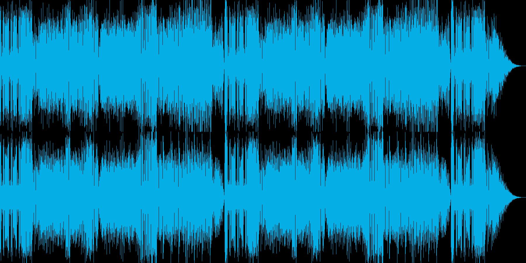 スウィングジャズ風ビッグバンドの再生済みの波形