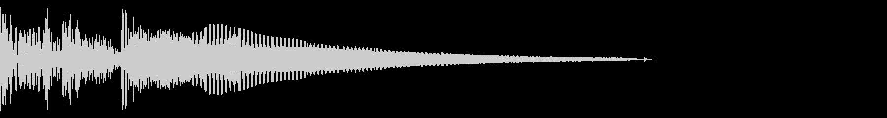 アップライトベース 部場面切り替え4の未再生の波形