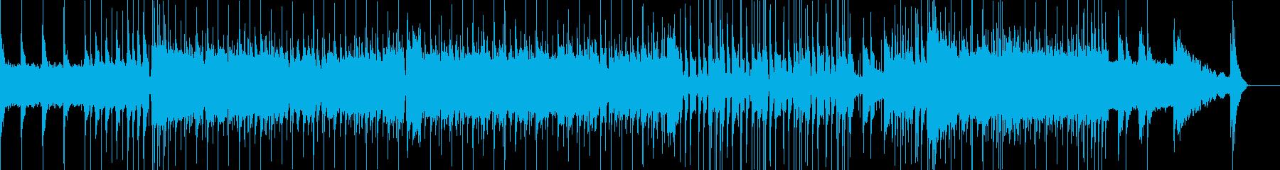 ロックンロールパーティーの再生済みの波形