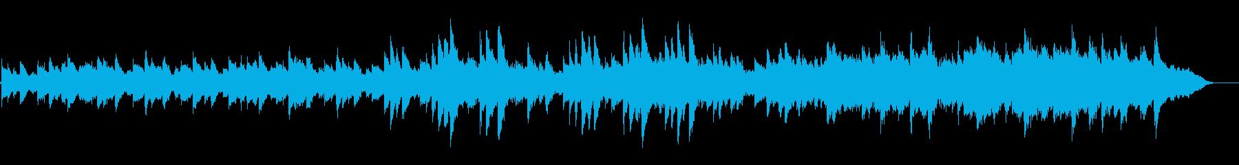 綺麗な 静か アンビエント ピアノ の再生済みの波形