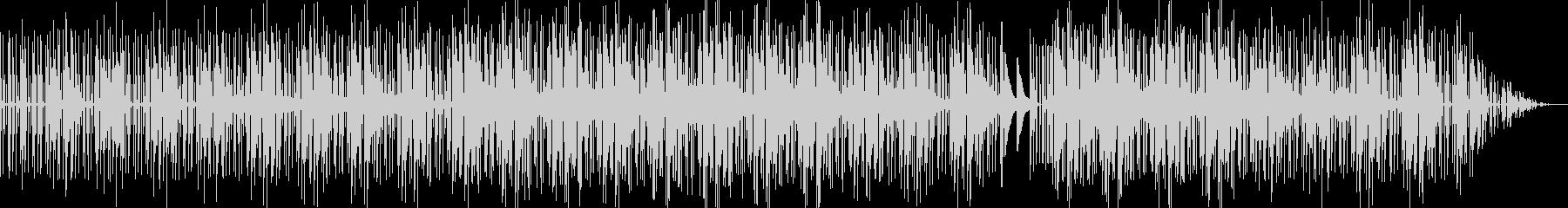 ダーク系ヒップホップ調EDMの未再生の波形