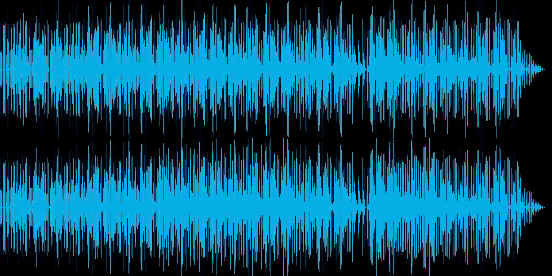 ダーク系ヒップホップ調EDMの再生済みの波形