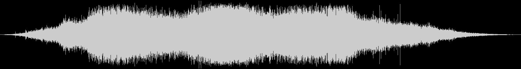 植生 木の葉ラッスルヘビー01の未再生の波形