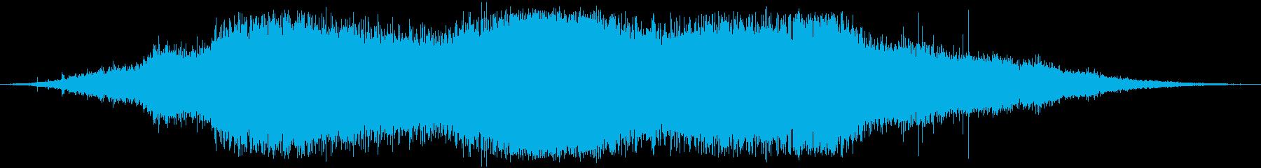 植生 木の葉ラッスルヘビー01の再生済みの波形