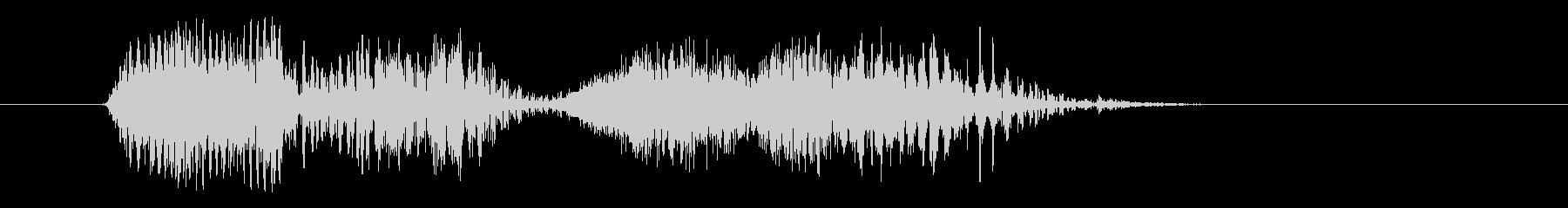 コンピューター、男性の声:密閉され...の未再生の波形