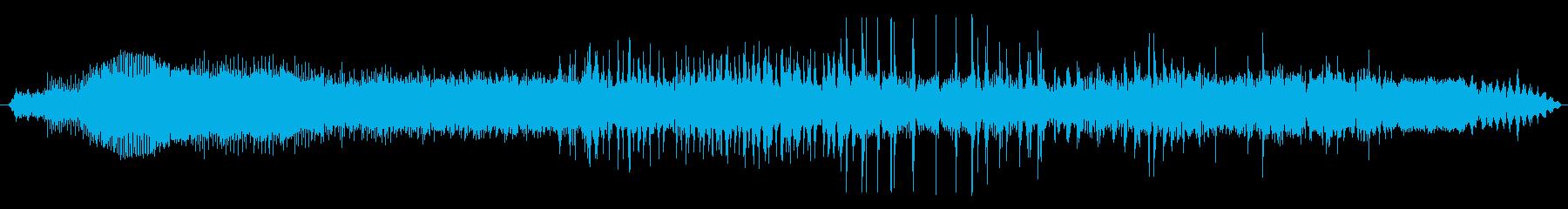車 UAZ 469 高速加速クラッ...の再生済みの波形