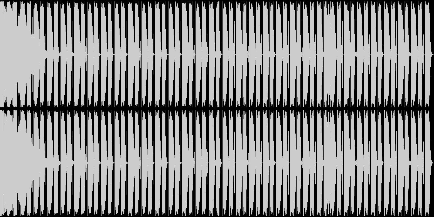 【エレクトロニカ】ロング2、ミディアム1の未再生の波形
