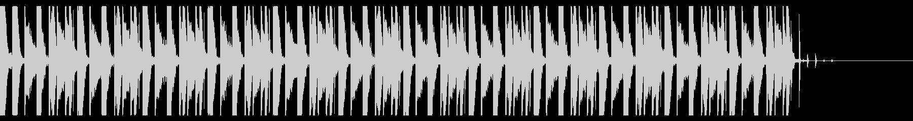 ファミコンゲームのピコピコしている音の未再生の波形