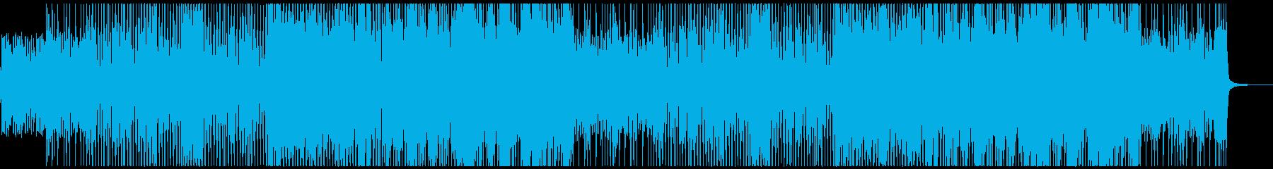 シリアスバトルなピアノジャズの再生済みの波形