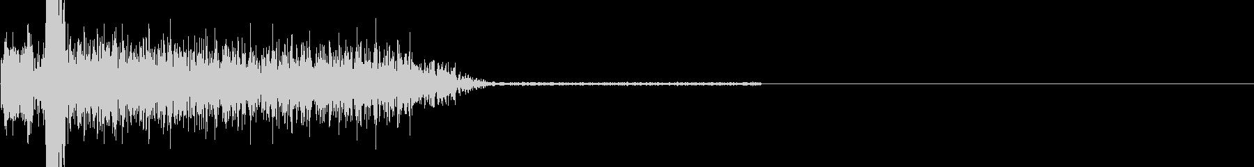 サーボエンドとクランクの未再生の波形