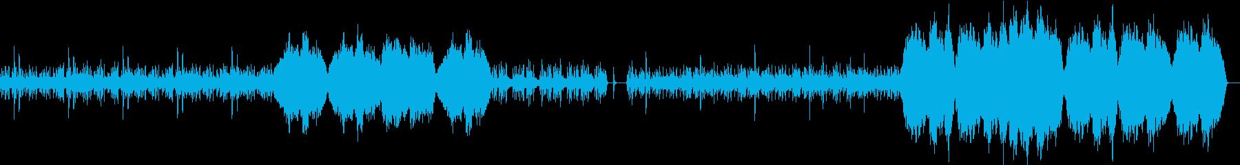オーケストラによる壮大で幻想的なBGMの再生済みの波形