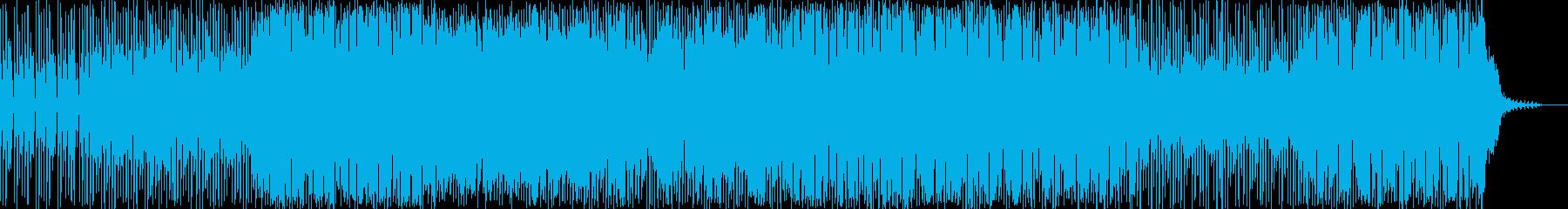 やさしい感じのメロディが印象的なロックの再生済みの波形