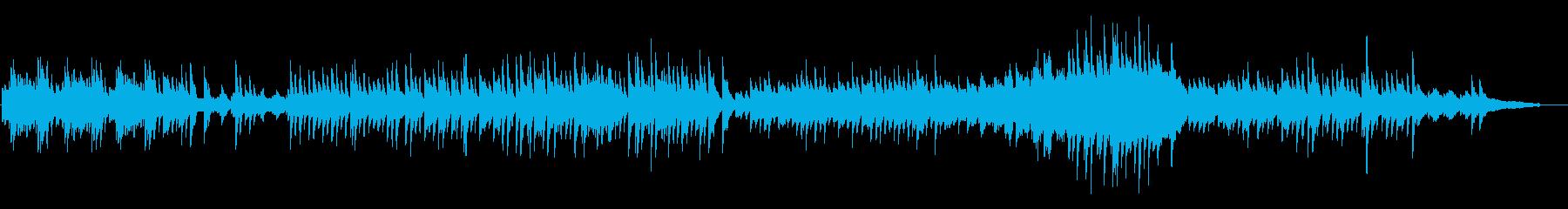 旋律が印象的なピアノソロの再生済みの波形