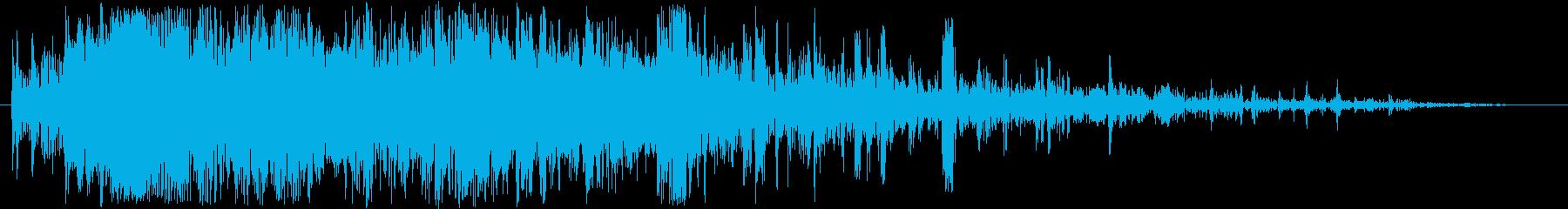ホラー・スプラッター・骨折の再生済みの波形