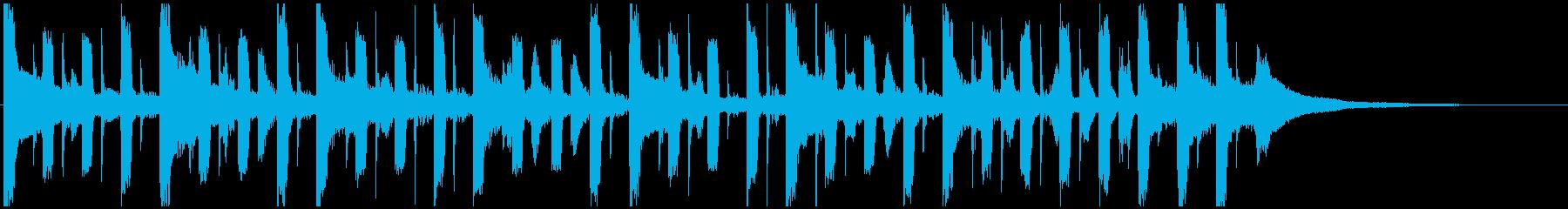 ガイダンス・オリエンテーションジングルCの再生済みの波形