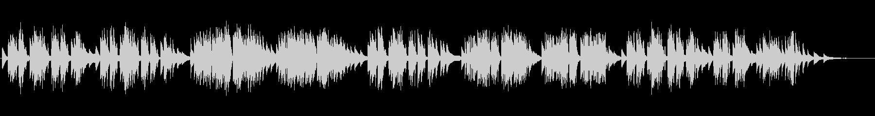 ショパン:ワルツ第19番 イ短調の未再生の波形