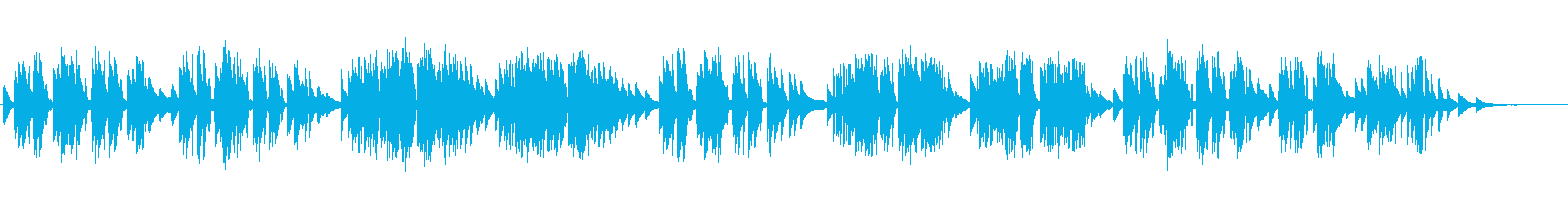ショパン:ワルツ第19番 イ短調の再生済みの波形