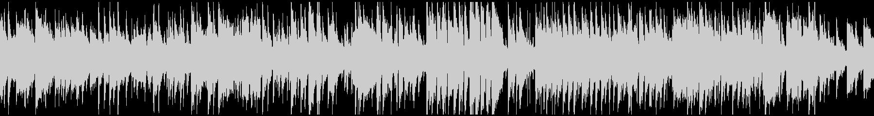 少しファンキーな5拍子のジャズ※ループ版の未再生の波形