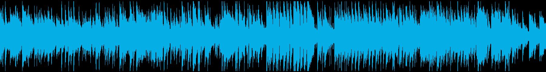 少しファンキーな5拍子のジャズ※ループ版の再生済みの波形