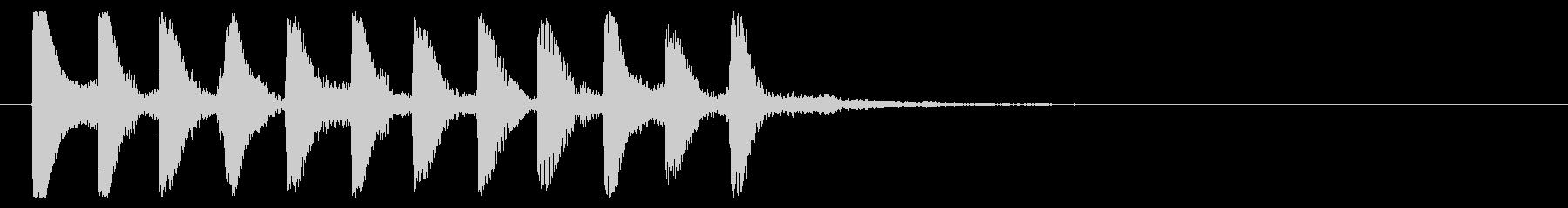 8ビット風システム音-16-2_revの未再生の波形