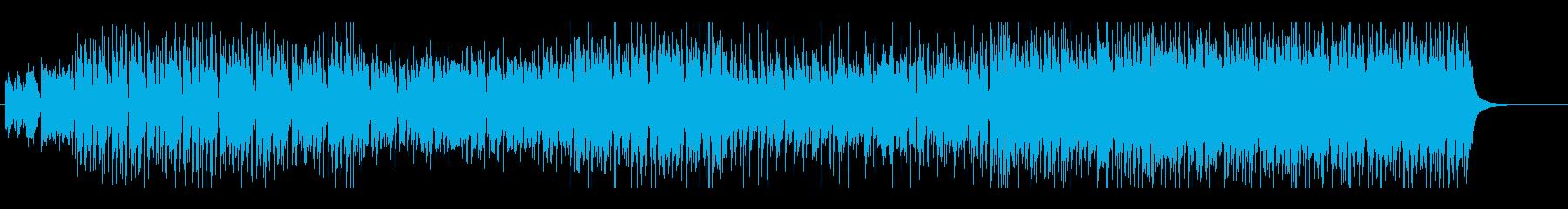 ジングルベルのシャッフルテクノの再生済みの波形