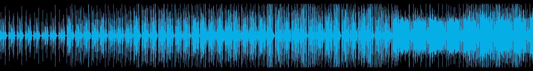 オシャレで爽やかなギターポップの再生済みの波形