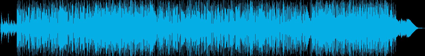 オシャレなacid jazzナンバーですの再生済みの波形