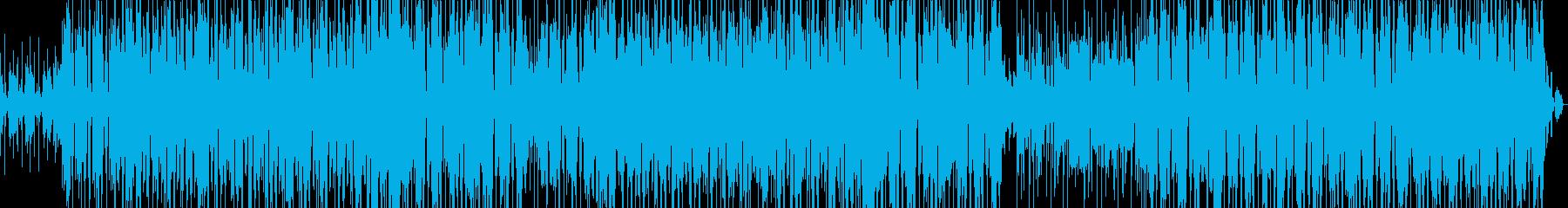 大きな太いグルービングの歌は、メイ...の再生済みの波形