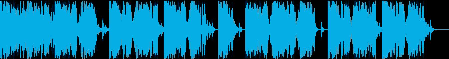 【EDM】ロング9、ショート2の再生済みの波形
