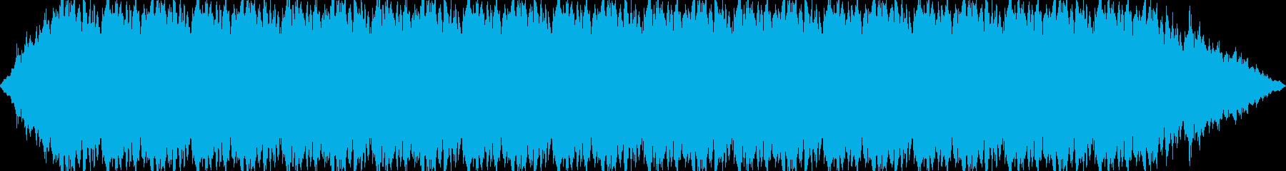 暗闇、恐怖を煽るダークサウンドの再生済みの波形