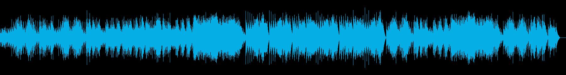アルルの女 メヌエット (オルゴール)の再生済みの波形