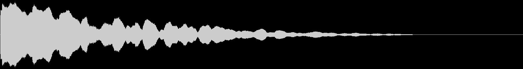 【ゲーム演出】SF_ポーンッッッの未再生の波形