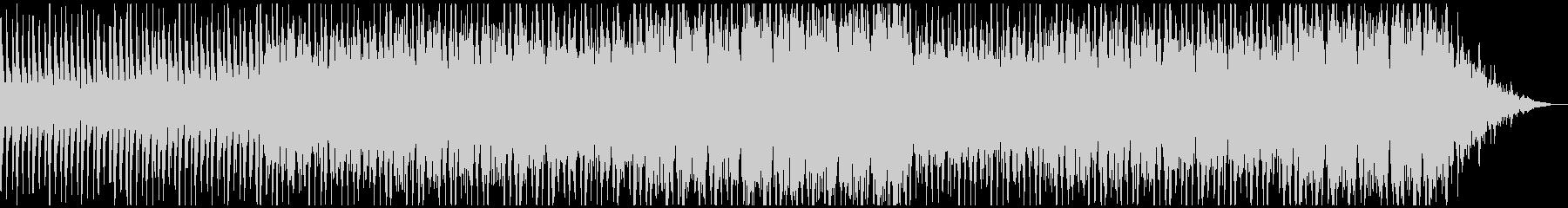 オーケストラの応援ソングの未再生の波形