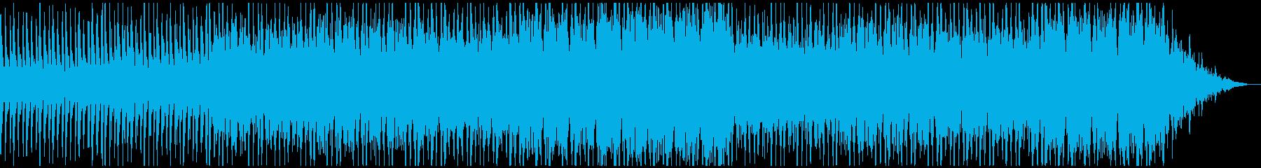 オーケストラの応援ソングの再生済みの波形