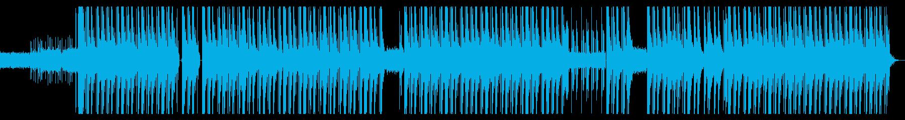 ダーク、シンセ、ハード、ヒップホップの再生済みの波形