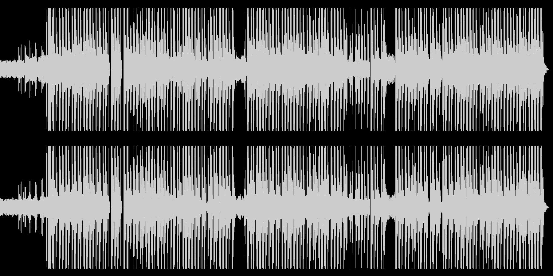 ダーク、シンセ、ハード、ヒップホップの未再生の波形