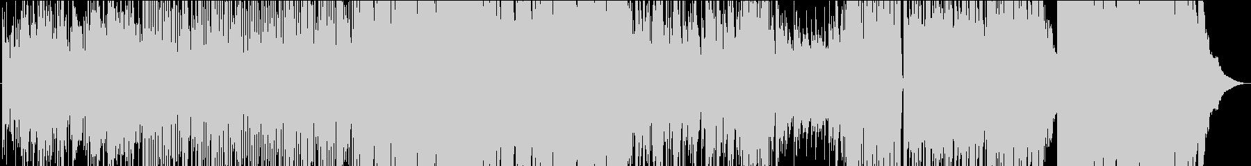早弾きフィドルが楽しいカントリー楽曲の未再生の波形