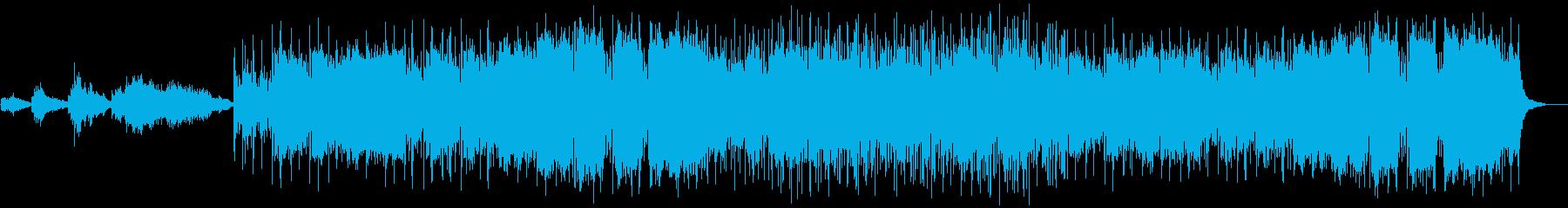 スペイン-アラブ民謡の再生済みの波形