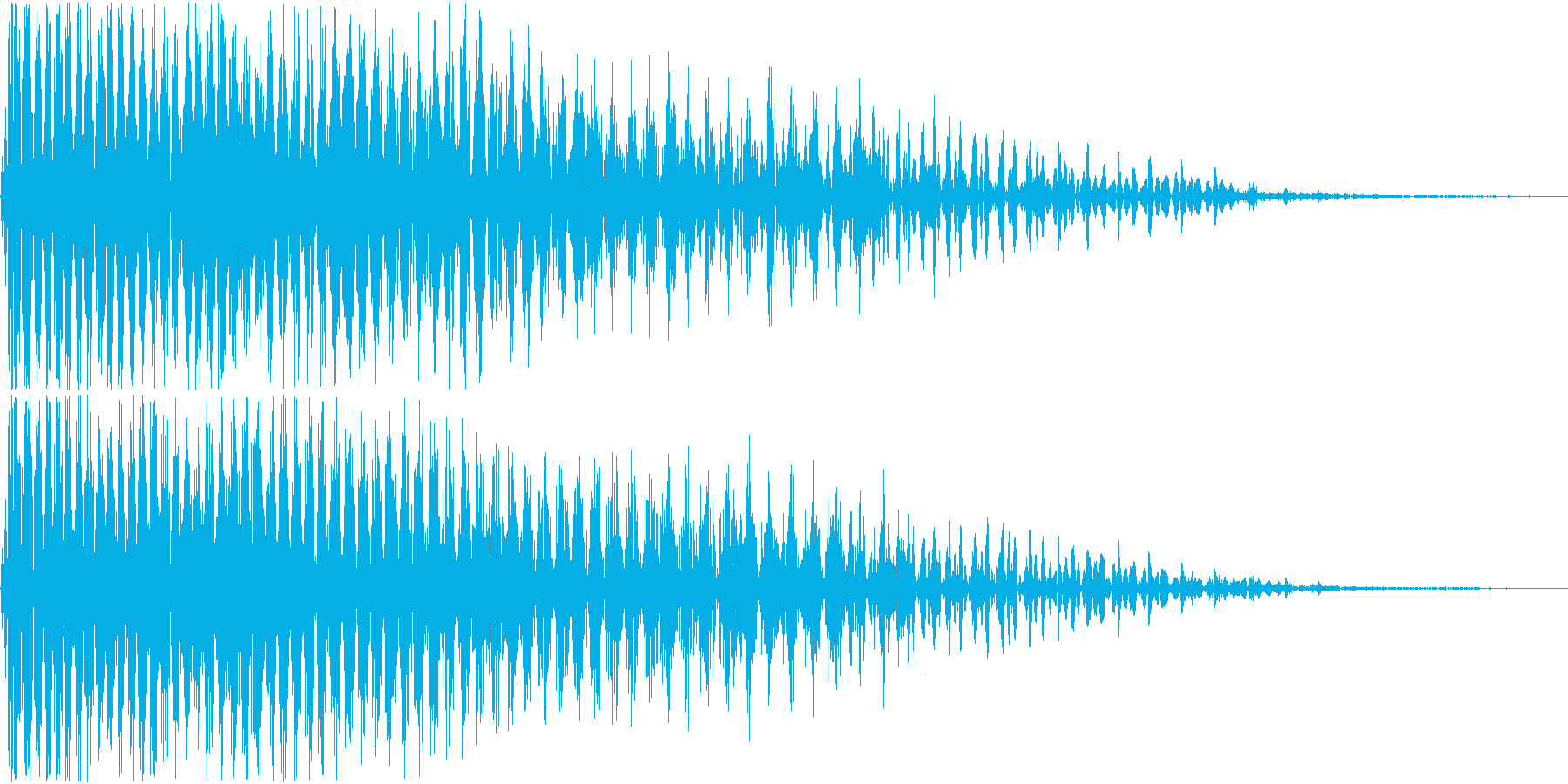 InvaderBuzz 発砲音 21の再生済みの波形