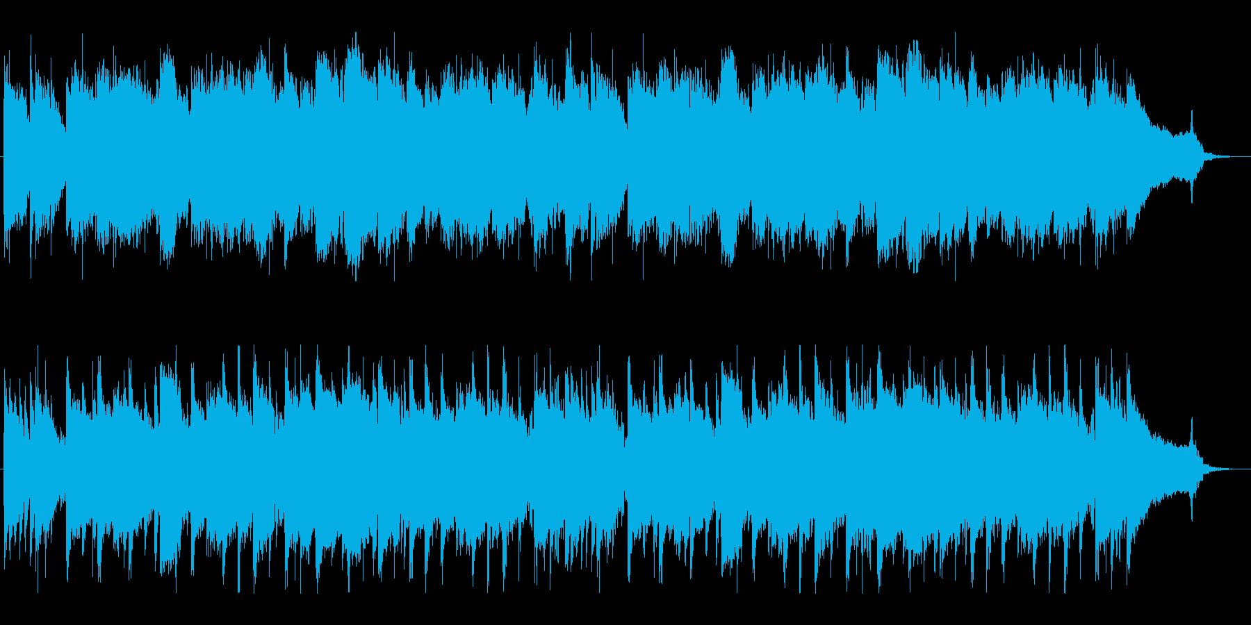 尺八・箏、水流のような上品な純和風BGMの再生済みの波形